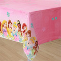 Princess Belle Cinderella Plastic Tablecover Table Cover