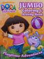 Dora the Explorer Jumbo 96 pg. Coloring And Activity Book - Playtime Adventures