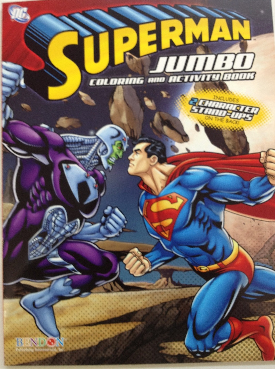 Superman Jumbo 64 pg. Coloring and Activity Book - Ultron
