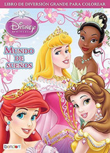Disney Princess 96 pg. Big Fun Book to color - Mundo de Sueños