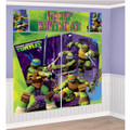 Teenage Mutant Ninja Turtles Giant Scene Setter Wall Decorating Kit