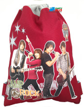 Drawstring Bag - Camp Rock Red Cloth String Bag