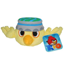 "Angry Birds Space Rio 5"" Plush Stuffed Toy No Music - Nico The Yellow Canary"