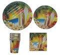 Hawaii Luau Basic Party Pack For 8