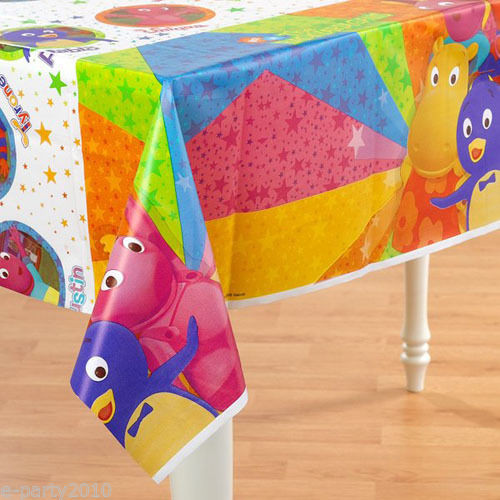 Backyardigans Table cover party decorations birthday