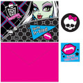Monster High Pack of 8 Invitations