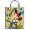 Jake and the Neverland Pirates Large Party Tote Plastic Bag - Green