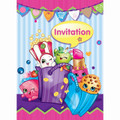 Shopkins Pack of 8 Invitations