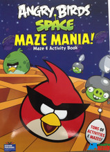 Angry Birds Space 96P Maze and Activity Book - Maze Mania