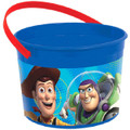 Toy Story Plastic Favor Bucket Container ( 1pc )
