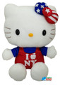 "Hello Kitty Medium 10"" Plush Toy - I Heart NY"