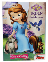 Sofia The First 96 pg. Big Fun Book To Color - Cute and Cuddly