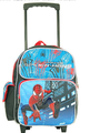 Spider Man 2 Small Toddler  Rolling Backpack - Blue/Black