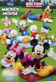 Mickey Mouse  Jumbo 96 pg. Coloring and Activity Book - Group