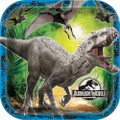 Jurassic World Large 9 Inch Lunch Party Dinner Plates