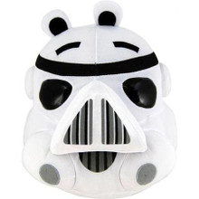 Angry Birds Star Wars Large Plush 16 Inch White Pig Storm Trooper Stormtrooper