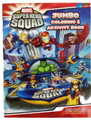 Marvel Super Hero Squad Jumbo 96 pg. Coloring and Activity Book w Thor