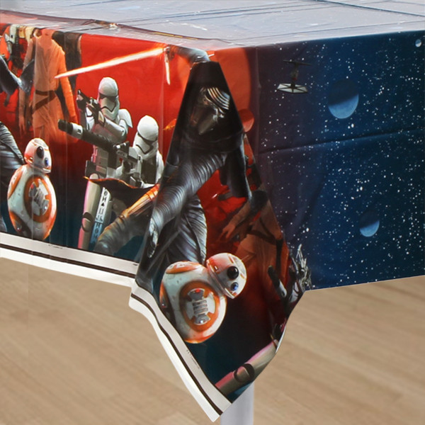 Star Wars Force Awakens Plastic Table Cover