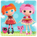 Lalaloopsy Small 7 Inch Square Party Cake Dessert Plates