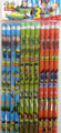 Toy Story 3 Blue/Green/Orange Wooden Pencils Pack of 12