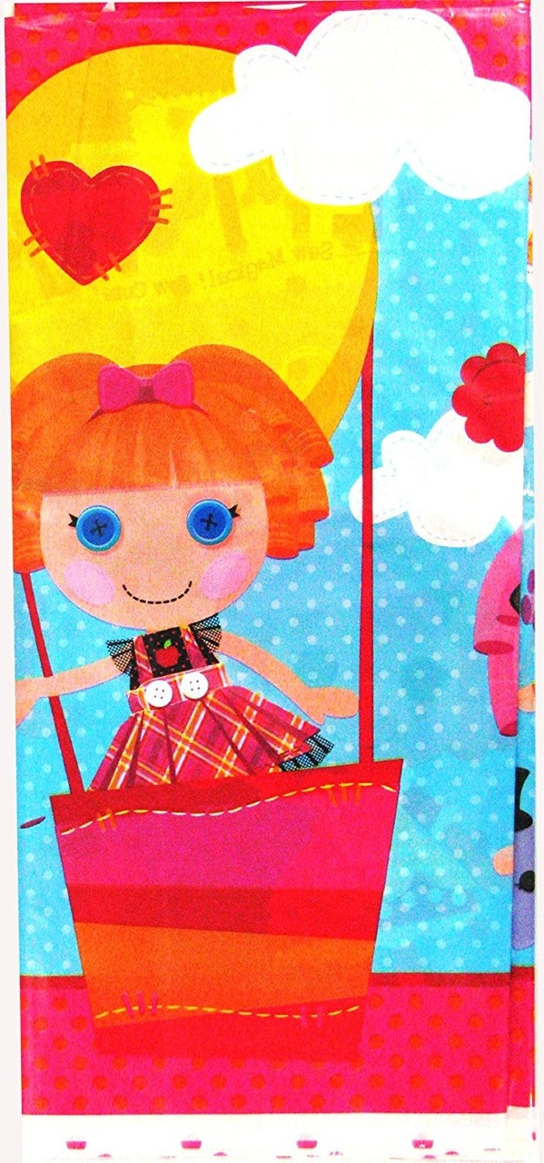 Lalaloopsy Plastic Tablecover Table Cover