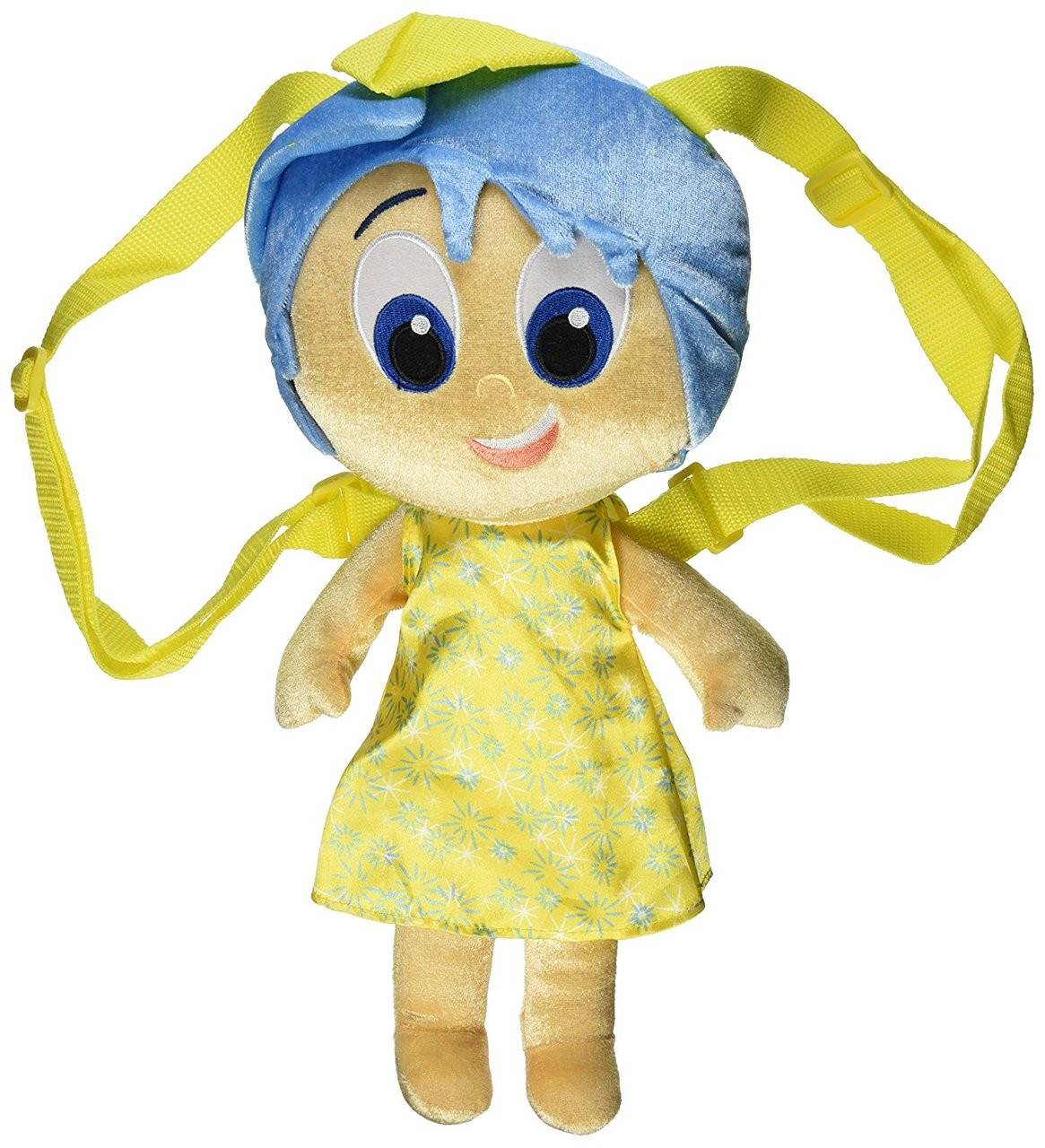 Inside Out Large Plush Backpack - Joy