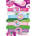 My Little Pony Pack of 4 Rubber Bracelets