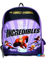 "The Incredibles Large 16"" Cloth Backpack Book Bag Pack  - Purple"