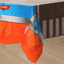 Planes Plastic Tablecover Cover Table Cloth Tablecloth