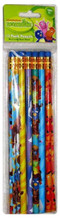 Backyardigans  Yellow/Green/Blue/Orange/Purple Wooden Pencils Pack of 12