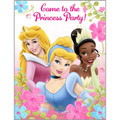 Princess Aurora Tiana Cinderella Pack of 8 Invitations