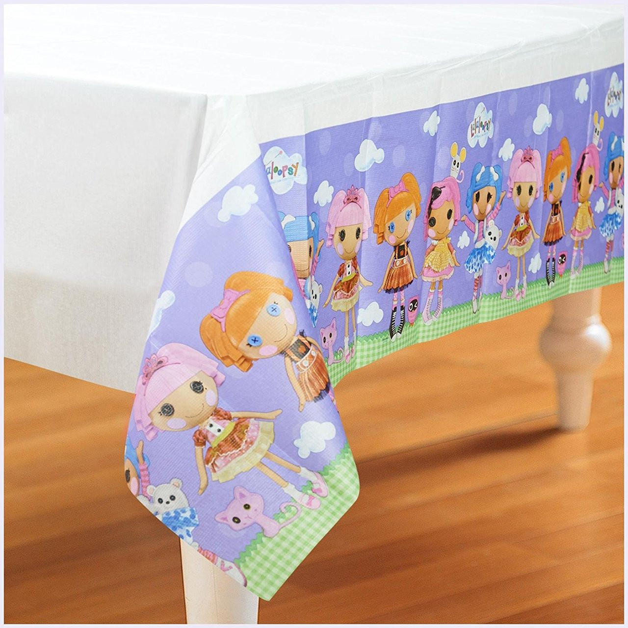 Lalaloopsy Paper Tablecover Table Cover