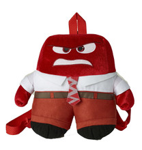 Inside Out Large Plush Backpack - Anger
