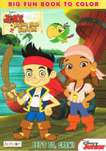 Jake the Pirate Jumbo 96 Pg. Coloring and Activity Book - Let's Go Crew