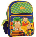 "El Chavo del Ocho Large 16"" Cloth Backpack - ""Zas! Zas!"""