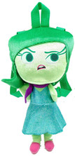 Inside Out 17 Inch Large Plush Backpack - Disgust
