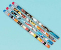 Power Rangers Mega Force Red/Blue Wooden Pencils Pack of 12