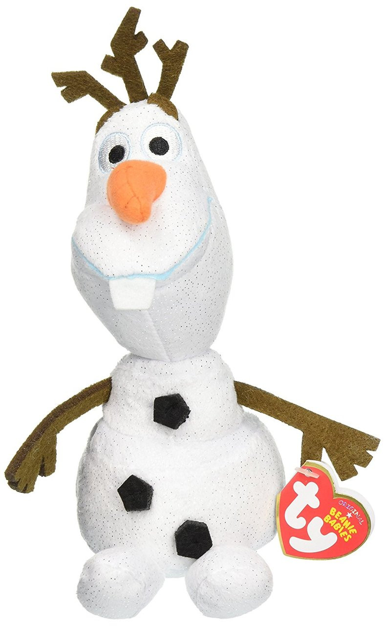 Frozen TY Beanie Babies 8 Small  Plush Toy - Olaf