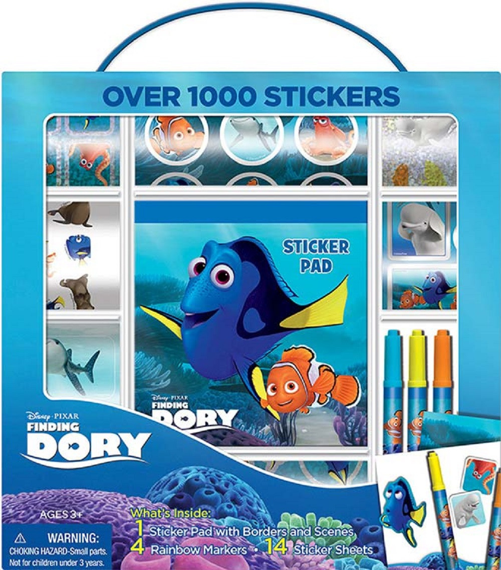 Finding Dory Over 1000 Stickers with Stickers Pad