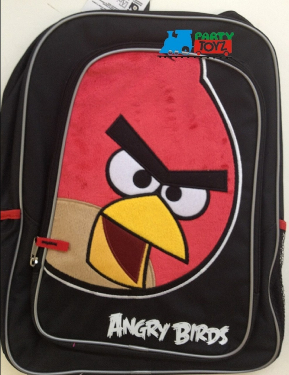 "Angry Birds Bird Red Pig Large 16"" Backpack Book Bag Sack School Angrybirds"