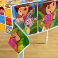 Dora the Explorer Plastic Table cover Squares