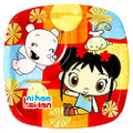Ni Hao Kai-Lan 7 Inch Small Square Party Cake Dessert Plates