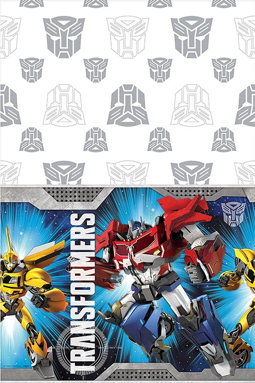 Transformers Plastic Table Cover