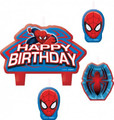 Spiderman 4 Piece Molded Candle