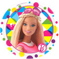 Barbie Sparkle 7 Inch Small Party Cake Dessert Plates
