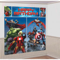 Avengers Assemble Giant Scene Setter Wall Decorating Kit
