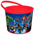 Marvel Epic Avengers  Plastic Favor Bucket Container ( 1pc )