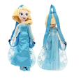 Frozen Queen Elsa 17 Inch  Plush Backpack Toy