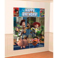 Toy Story Buzz Woody Jessie  Giant Scene Setter Wall Decorating Kit