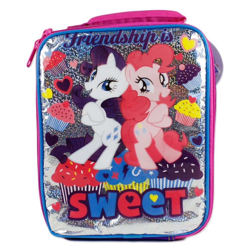 My Little Pony Vertical Cloth Lunch Box - Friendship is Sweet